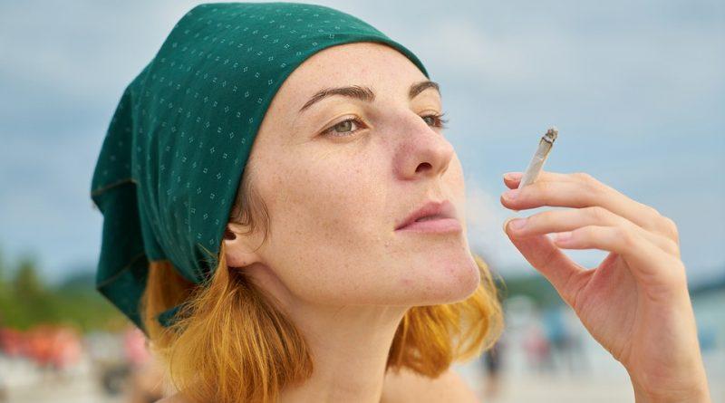 Svapo libero con la e-cigarette.
