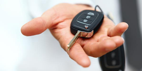 chiave auto con transponder